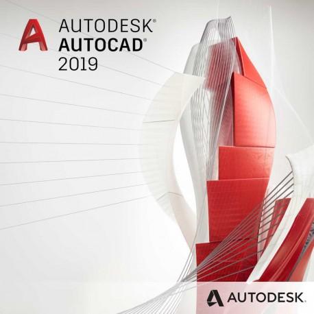AutoCAD 2019 - ze specjalistycznymi zestawami narzędzi - wynajem - subskrypcja 2 lata - multi-user