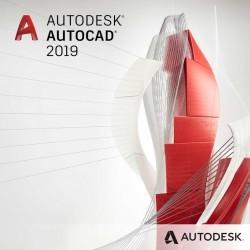 AutoCAD 2019 - ze specjalistycznymi zestawami narzędzi - wynajem - subskrypcja 2 lata - single-user