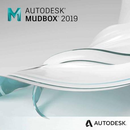 Mudbox 2019 - wynajem - subskrypcja 1 rok -  single-user