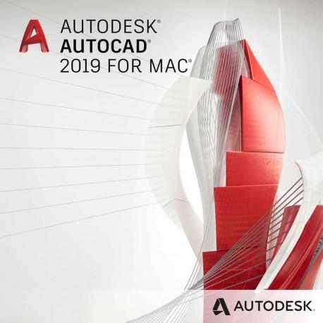 AutoCAD na Mac  2019 - wynajem - subskrypcja 2 lata - single-user