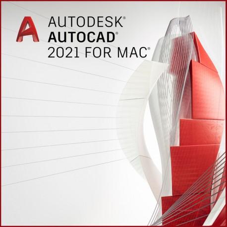AutoCAD na Mac  2021 - wynajem - subskrypcja 1 rok - single-user