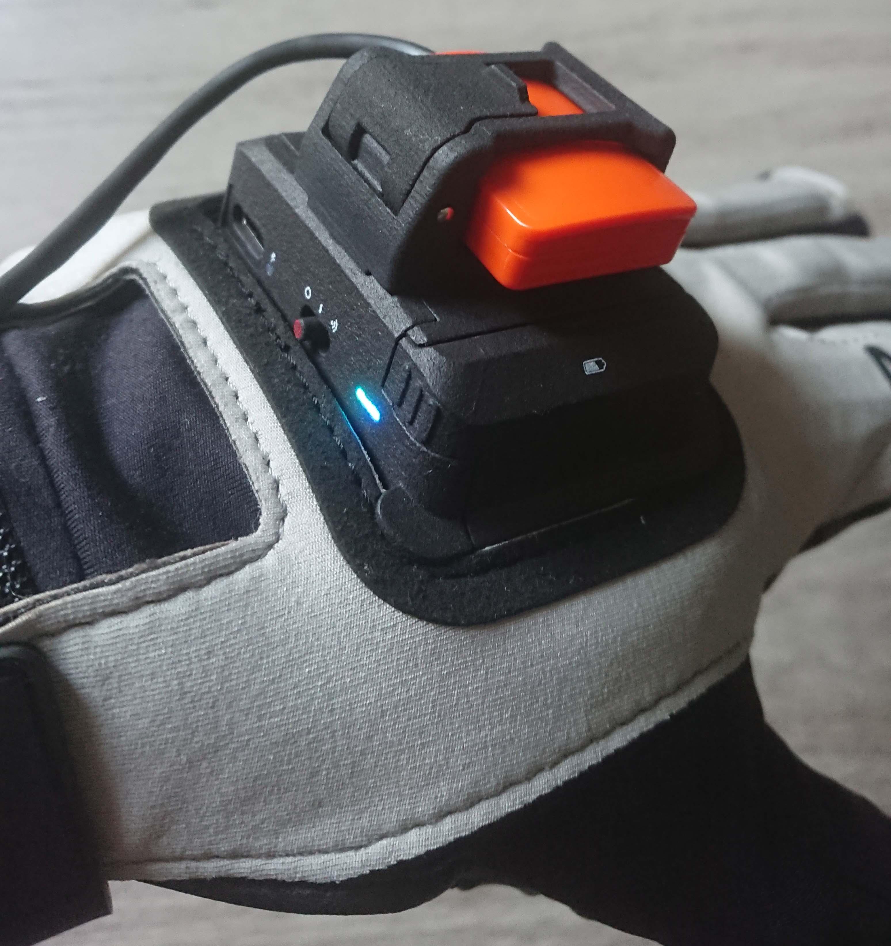 Rękawice do finger trackoong MANUS moCap