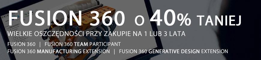 Promocja na Fusion 360