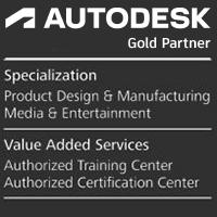 Gold Partenr AutoDesk